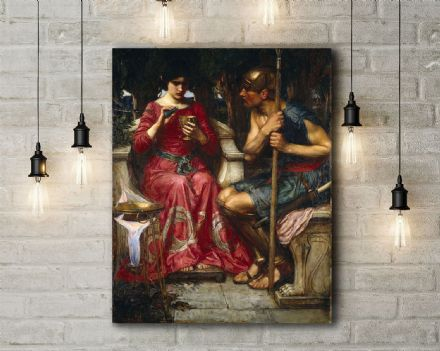 John William Waterhouse: Jason and Medea. Fine Art Canvas.